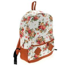 This vintage flower canvas backpack is soft and comfortable to carry.It's fashionable and spacious enough to carry all necessary things for daily use. Vintage Backpacks, Flower Canvas, Canvas Backpack, Black Backpack, School Backpacks, Vintage Flowers, Outdoor Travel, Fashion Backpack, Vintage Ladies