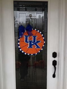 Basketball burlap door hanger : basketball door - Pezcame.Com
