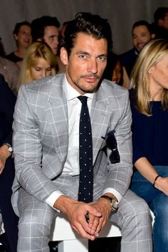 London Collections: Men S / S 2015 (Giorno II) ~ David James Gandy