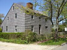 Halsey House (Southampton, New York) - Oldest House in NY, built 1648
