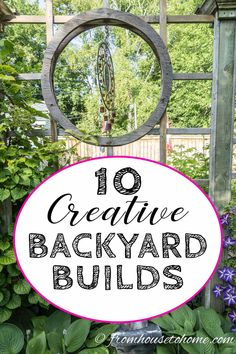 Lawn and Garden Tools Basics Great Ideas For Diy Backyard Projects. From An Arbor To A Trellis To A Backyard Swing Or Hammock, You'll Find All The Diy Tutorials. Navigate To Get All The Diy Backyard Ideas. Backyard Hammock, Diy Hammock, Backyard Shade, Pergola Patio, Shade Garden, Backyard Landscaping, Pergola Swing, Landscaping Ideas, Hammock Ideas