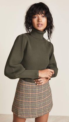 47 Popular Fall Outfits For Women Ideas With Sweater - Fashion Fashion Mode, Look Fashion, Winter Fashion, Fashion Outfits, Womens Fashion, Fashion Design, Fashion Trends, Fashion Stores, Fashion 2017