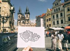 Im Leaving, Prague, Barcelona Cathedral, Louvre, Around The Worlds, Felt, Shapes, Inspired, Drawings