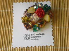 SPILLA - mosaico di elementi decorativi in vari materiali