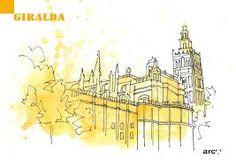 Resultado de imagen de dibujo arco de la macarena