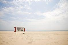Lambert's beach sign