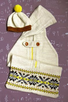Whit's Knits: Snuggle Sack (and Bonus Hat!) - The Purl Bee - Knitting Crochet Sewing Embroidery Crafts Patterns and Ideas!