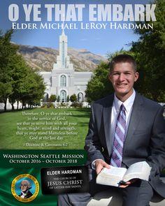 """Thanks for making this great gift for my family."" - Elder Hardman"