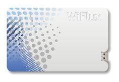 WiFlux Wireless Portable Power Credit Card Sized Battery Pack (video) | Geeky Gadgets
