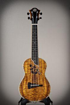 DeVine Guitars and Ukuleles : Guitar gallery : Ukulele gallery : Custom Koa Guitars and Kasha Ukuleles of Maui, Hawaii Ukulele Instrument, Bass Ukulele, Banjo, Custom Guitars, Maui Hawaii, Musical Instruments, Tarot, Infinity, Traveling