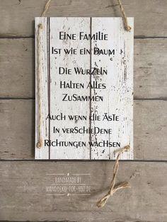 Eine Familie Ist Wie Ein Baum.