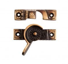 Ornate Solid Brass #Window Sash #Lock Antique Brass # 15442 Shop --> http://www.rensup.com/Sash-Lifts/Sash-Window-Locks-Antique-Brass-Sash-Window-Lock-2.6-inch-L/pd/15442.htm?CFID=1797075&CFTOKEN=b91cff837e7f52c3-296EBA35-A424-6B4A-5093FFDC5DA88813