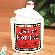 Jar of Nothing, $10.98