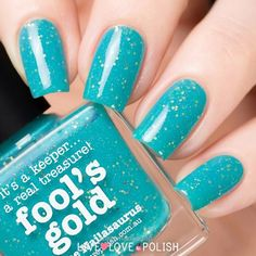 Excellent Picture Polish Fool's Gold Nail Polish  The post  Picture Polish Fool's Gold Nail Polish…  appeared first on  Menimadec .