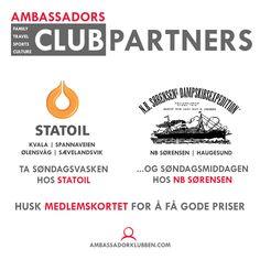 Husk at våre partnere har gode priser! Tech Companies, Company Logo, Club, God, Dios, Praise God, The Lord