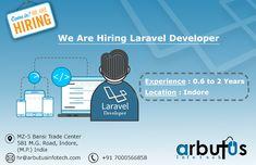 laraval  Developer Hiring Poster, We Are Hiring, Trade Centre, Indore, Map, Design, Location Map, Maps