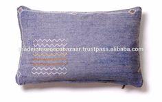 "Beautiful Handmade Cactus Silk Pillows 25"" x 16"", View decorative silk throw pillows, Saharan Agave Silk Cushions Product Details from MADE IN MOROCCO BAZAAR SARL on Alibaba.com"