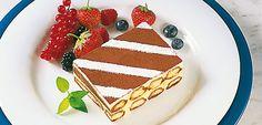 Tiramisu with Lightly QimiQ Whip Tiramisu, Food Service, Waffles, Sugar, Cold, Cookies, Breakfast, Fett, Desserts