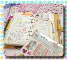 Goodies for my planner! | Flickr - Photo Sharing!