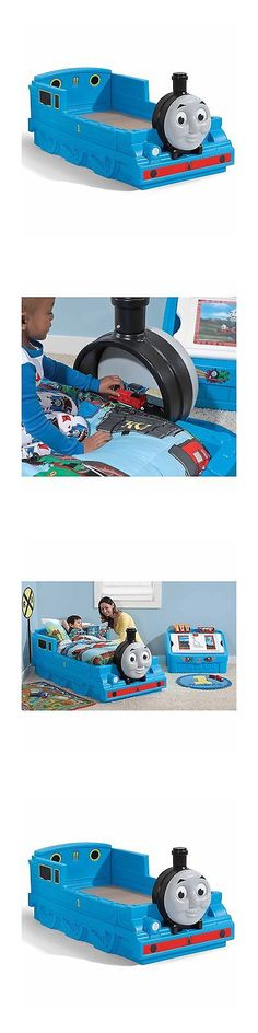 Home D cor 146110: Toddler Bed Frame Thomas Train Storage ...
