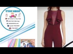 524_thiết kế áo - YouTube Dress Sewing Patterns, Blouse Patterns, Draped Dress, Lace Dress, Couture Sewing Techniques, Blouse Styles, Ladies Boutique, Pattern Making, Sewing Tutorials