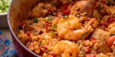 This dish will transport you straight to the French quarter. Mardi Gras Food, Creole Recipes, Snacks, Shrimp Recipes, Donut Recipes, Noodle Recipes, Food Blogs, Delish, Dinner Recipes