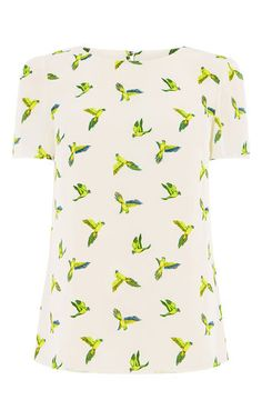 TROPICAL PARROT TEE   Oasis