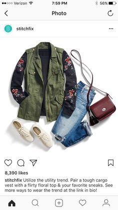 This outfit minus the bag and jeans! Dec 2017 -MM