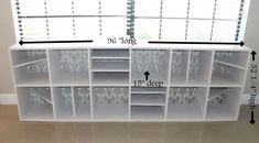 DIY bookshelf complete with plans