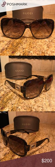 Gucci Sunglasses Brown Gucci Sunglasses Gucci Accessories Sunglasses
