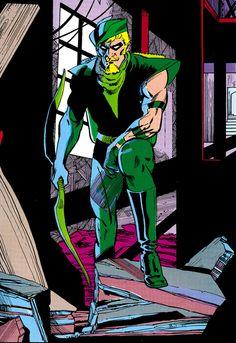 Green Arrow - Trevor Von Eeden
