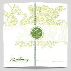 Hochzeitseinladungen mit Ornamenten und eigenem Hochzeitslogo. Tapestry, Home Decor, Bunting Bag, Love Story, Monogram, Card Wedding, Floral Patterns, Nice Asses, Hanging Tapestry