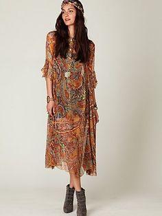 Loving this boho, hippie look.