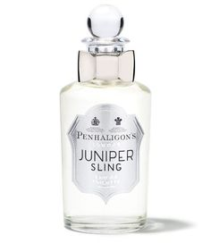 Created for Penhaligon's by Master Perfumer Olivier Cresp, Juniper Sling is a playful, chilled and mysterious homage to the Bright Young Things of London's roaring twenties.