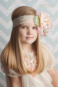 In my Easter Bonnet Easter Headband by Ruby Blue -  Easter Photo Prop, Easter Egg hunt. $29.99, via Etsy.