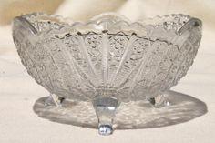 antique glass finger bowls - Google Search