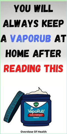 You Will Always Keep a VapoRub at Home After Reading This Health Site, Health Facts, Health Quotes, Ear Health, Tongue Health, Healthy Eating Quotes, Health Planner, Fitness Planner, Relieve Constipation