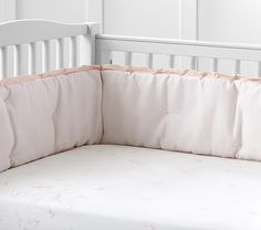 Monique Lhuillier Ethereal Butterfly Sateen Crib Fitted Sheet   Pottery Barn Kids