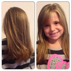 Back to school trim with long layers.