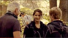 When Katniss gave Gary a super creepy look.