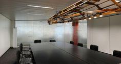 Sala de reuniões nos escritórios da Atradius em Anvers, Bélgica
