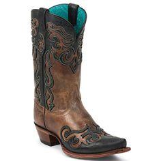 Tony Lama Women's Sienna Lasso Vaquero Western Boots