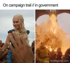 40 Of The Most Lit Memes From The Game Of Thrones Season 8 Episode 5 (Spoilers) Game Of Thrones Facts, Game Of Thrones Quotes, Game Of Thrones Funny, Game Development Company, Game Of Trones, King In The North, Got Memes, Fun World, Hbo Series