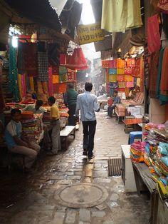 Cloth Market . Old Delhi