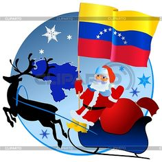 portada navideña con la bandera de venezuela - Buscar con Google