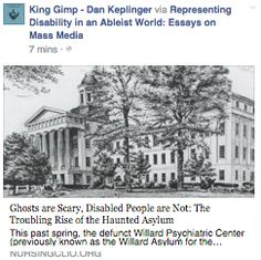 King Gimp: Why Old Institutions and Asylums Seem Creepy
