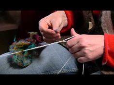 Spinning tweed yarn.mp4 - YouTube
