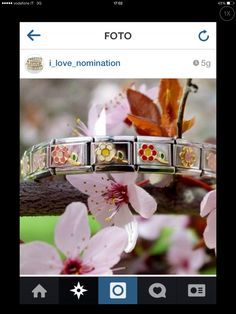 Celebrate Spring with your Nomination bracelet Nomination Bracelet, Nomination Charms, Looking For Women, Girly, Wedding Rings, Engagement Rings, Celebrities, Spring, Bracelets