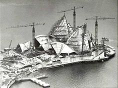 The Sydney Opera House by architect Ove Arup & Partners was built in Sydney, Australia in Famous Buildings, Famous Landmarks, Sydney Australia, Australia Travel, Gaudi, Sydney Opera, South Wales, Architecture Organique, Jorn Utzon