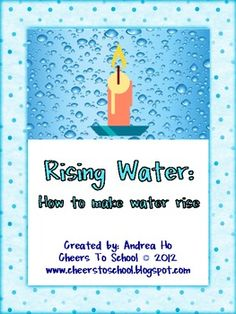 This is a science experiment that shows how water can rise in a vase due to the high and low air pressures.  Lesson plan included in unit....